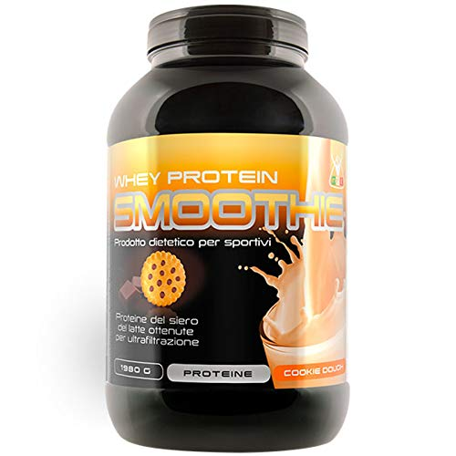 Net Integratori Whey Protein Smoothie 900 grammi Gusto BISCOTTO Cookies Dough Proteine siero del latte Carbery Carbelac Ultrafiltrate