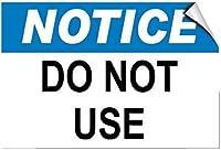 アルミメタルサインティンサイン、通知は危険通知サインを使用しないでください、ヴィンテージルック複製メタルサインホームウォールアート装飾ポストプラーク用女性男性