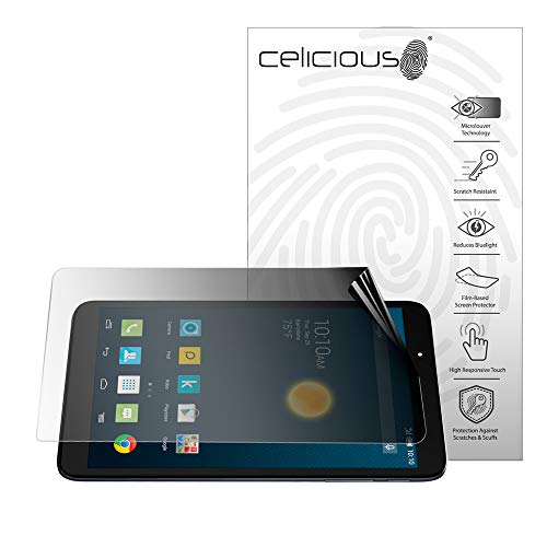 Celicious Privacy 2-Way Landscape Anti-Spy Filter Screen Protector Film Compatible with Alcatel Onetouch Hero 2