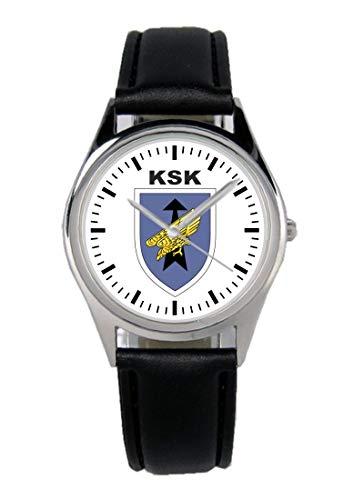 Soldat Geschenk Bundeswehr Artikel KSK Wappen Uhr B-1130