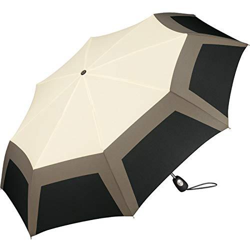 Pierre Cardin Paraguas, diseño geométrico, color blanco