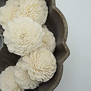 Oh You're Lovely Sola Wood Flower Marigold 2.5 inches Sold by The Dozen