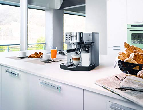 DELONGHI EC 850.M Pump Espresso & Cappuccino Machine 1450W (Metallic)