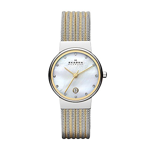 Skagen Women's 355SSGS Silver Stainless-Steel Quartz Fashion Watch