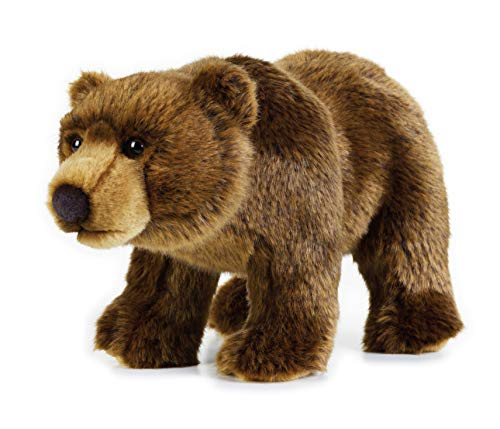 National Geographic- Grizzly Bär Animal en Peluche, 9770740, Marron
