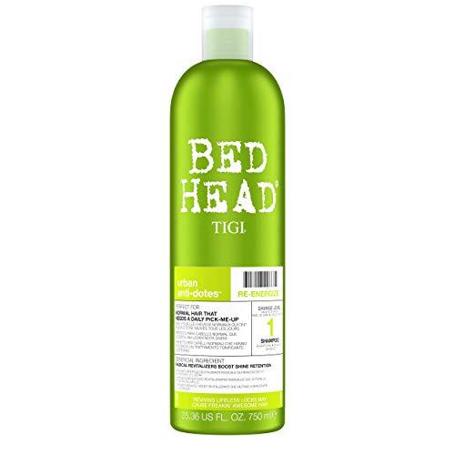 Bed Head by Tigi Urban Antidotes Re-Energize Shampoo für normales Haar, 750ml