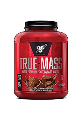 BSN True-Mass Weight Gainer, Muscle Mass Gainer Protein Powder