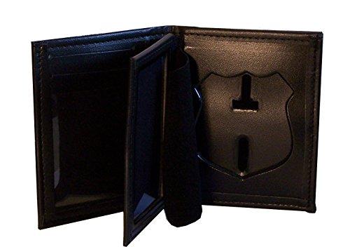 Hidden Badge Wallet for NY City Patrol Officer (Cutout PF145)
