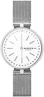 Skagen Connected Women's Signatur T-Bar Stainless Steel Mesh Hybrid Smartwatch, Color: Silver (Model: SKT1400)