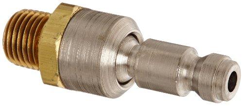 Dixon Valve DCP1SWIV Brass Ball Swivel Plug, 1/4