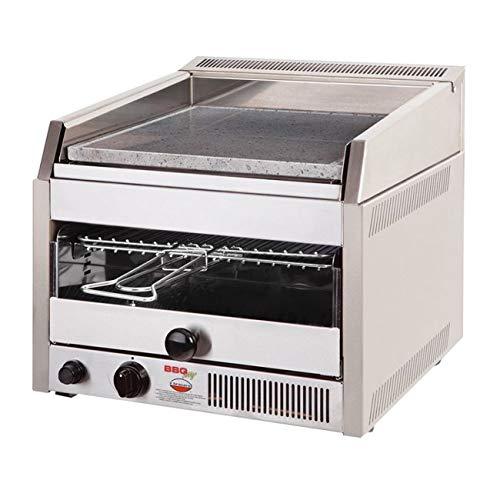 IL BRACERE Barbecue da Incasso Modello BBQ City- Inox, Funziona a Gas METANO