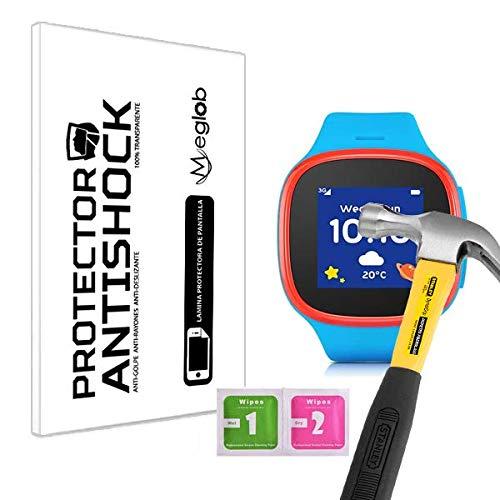 Protector de Pantalla Anti-Shock Anti-Golpe Anti-arañazos Compatible con Alcatel Move Time