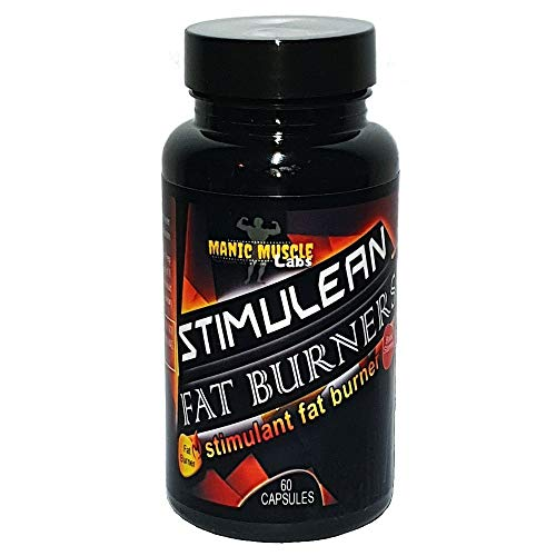 Manic Muscle Labs STIMULEAN Fat Burners Weight Loss 60 Capsules