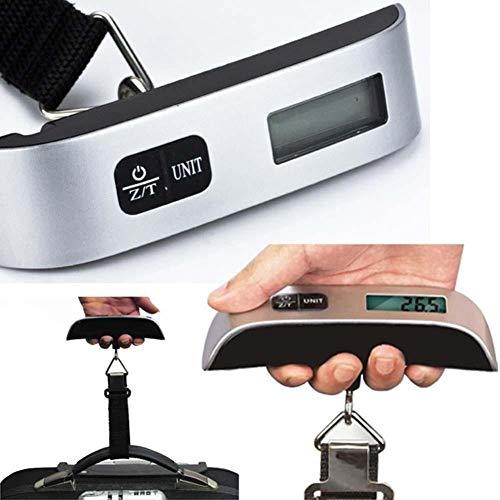 Bagage weegschaal Gewichtsschaal Draagbare LCD Digitale Opknoping Bagage Schaal Reizen Elektronische Schaal Top Kwaliteit (50kg / 10g) schalen