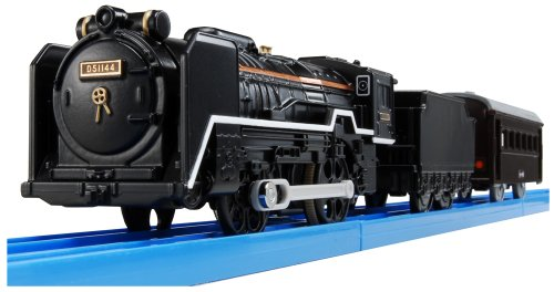 Plarail D51 (with a light) Turn Rail set (japan import)