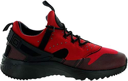 Nike Herren Air Huarache Utility Laufschuhe, Rot/Schwarz (Gym Rot/Schwarz), 47 EU
