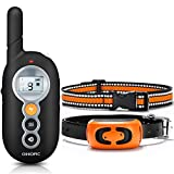 OMORC Dog Training Collar, 2019 Remote Control Dog Shock Collar Up to 1000Ft