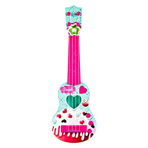 Foxom Guitarra Electrica Niños - 4 Cuerdas Infantil Rock Guitarra Juguetes con...