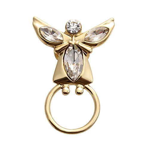 SENFAI Angel Girl Magnetic Eyeglass Holder Brooch for Mother