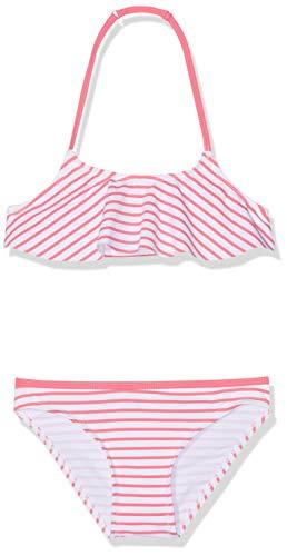 Losan 916-4982AN Bikini, Rojo (Coral Medio 624), 2 años (Tamaño del Fabricante:2) para Niñas