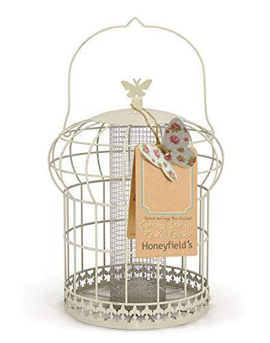 Honeyfields Hanging Squirrel Proof Wild Bird Peanut Feeder. In Cottage...