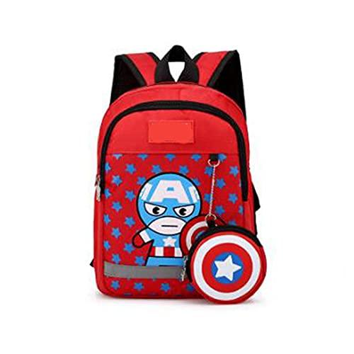 XYBB Mochila infantil 3-6 años, mochilas de la vieja escuela para niños, mochilas impermeables, libro de araña para niños, bolso de hombro para niños, mochila Photocolor9