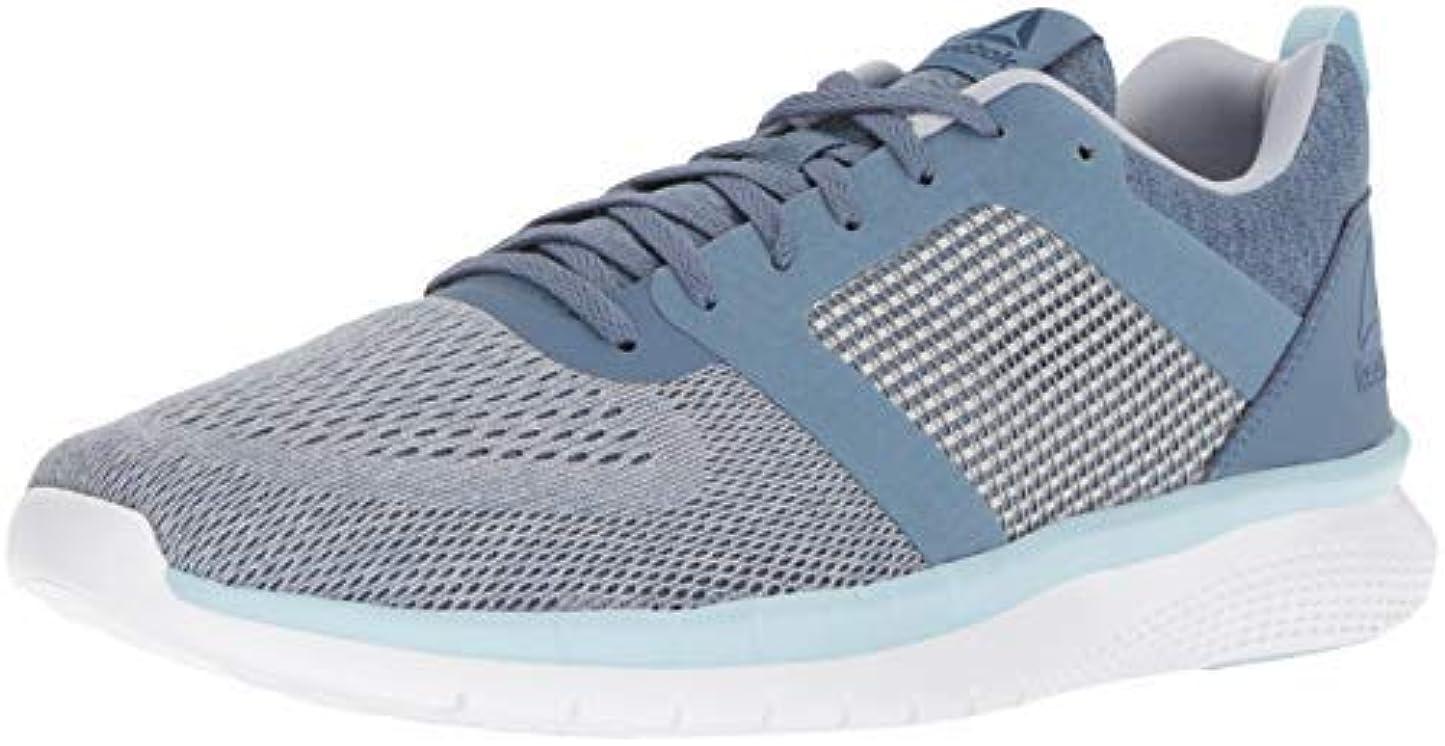 情熱衣装ゴミReebok Women's PT Prime 2.0 Running Shoe Blue Slate/Cloud Grey/DRE 8.5 M US [並行輸入品]