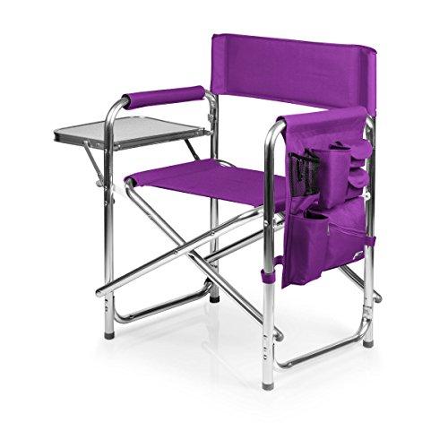 "ONIVA - a Picnic Time Brand Portable Folding Sports Chair, Purple , 33"" x 5"" x 21"""