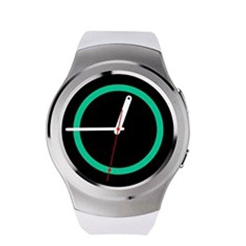 Swiss-Pro Smartwatch Smart Watch Weiß BT 4.0 / SIM-Karte/Pulsmesser/Schrittzähler
