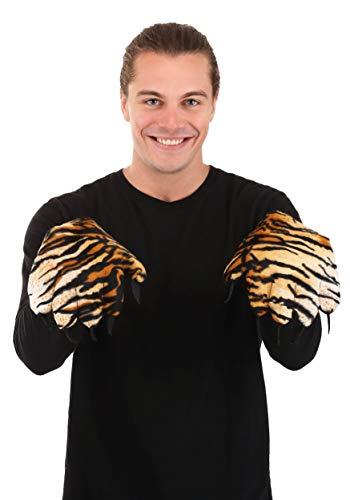 Guantes de pata de tigre - negro - talla nica