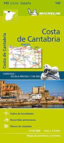 Mapa Zoom Costa de Cantabria: 143 (Mapas Zoom Michelin)