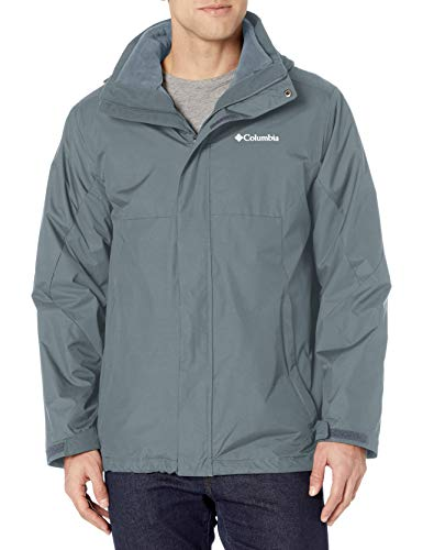 Columbia Herren Eager Air Interchange Jacket Isolierte Jacke, Graphit, 6X Groß