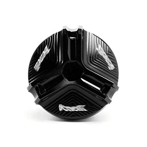 GUIFUG M20 * 1.5 Motocicleta CNC Aceite del Motor Tapón de llenado de Aceite Tapón de Drenaje/Ajuste for Benelli TRK 502 500 200 Leoncino BJ250 BJ500 TNT 125 300 600 502c (Color : Black Benelli)