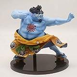 JINFENFG One Piece King of Modeling Top Decisive Battle Jinbei Jinbe Figura de Anime WA Zhengquan Ha...