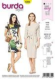 Burda 6322 - Patrón de Costura para Vestido de Mujer 34 – 44 para Coser uno Mismo, Ideal para Principiantes [L1]