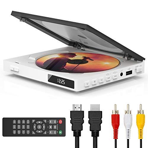 Super Mini DVD Player for TV, HDMI AV Output...