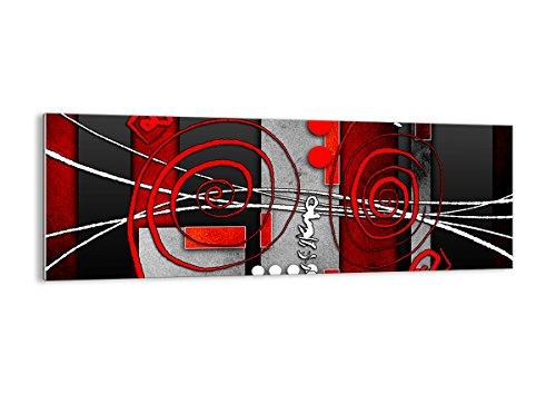 ARTTOR Quadri Moderni Soggiorno - Stampe su Vetro - Home Decor - Quadri da Salotto, Cucina E Altre Stanze - Varie Dimensioni e Temi Grafici - GAB140x50-0599