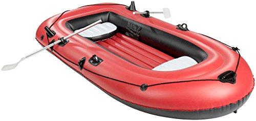 Speeron Boot: 4-kamer-rubberboot met pomp & peddels, voor 2-3 personen (rubberboot)