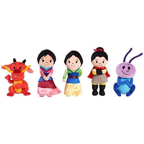 Disney Mulan Bean Plush (5 copack?)