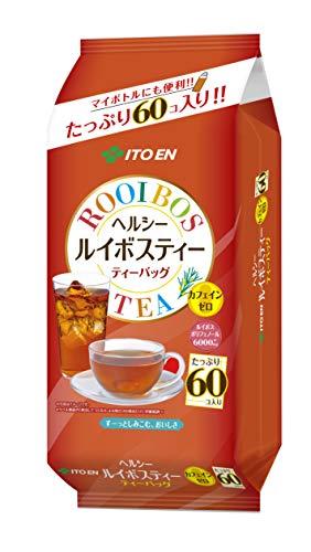 伊藤園 ヘルシールイボスティー ティーバッグ デカフェ・ノンカフェイン 3.0g×60袋