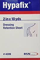Hypafix Dressing Retention Sheets - 2 in x 10 yds Roll by Smith & Nephew