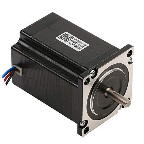 Rtelligent Nema 23 Schrittmotor 57A1 130 Ncm 185,71 oz.in 2-Phasen Hybrid Offene Schleife 1,8 Grad 4 Drähte Mikroschritt mit 76 mm Länge für 3D-Drucker