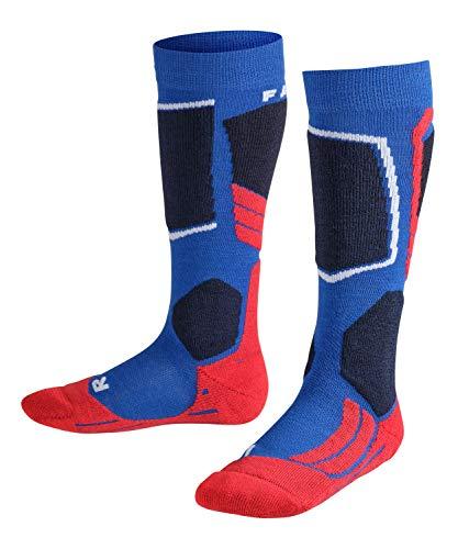 Falke Calcetines de esquí para niños SK2 K KH, 1 unidad, azul (Cobalt Blue 6941), 35-38