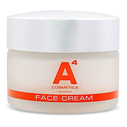 A4 - FACE CREAM | Anti-Aging Creme | Verjüngende Gesichtspflege | Tagescreme | Weniger Falten, Gesunde und Frische Haut (50ml)