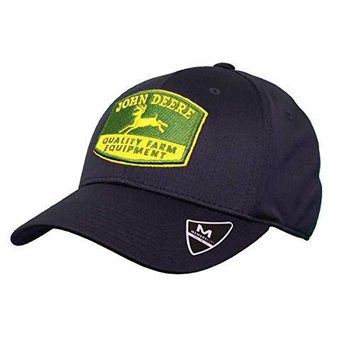 John Deere Memory Fit - Vintage Cap-Navy-Os