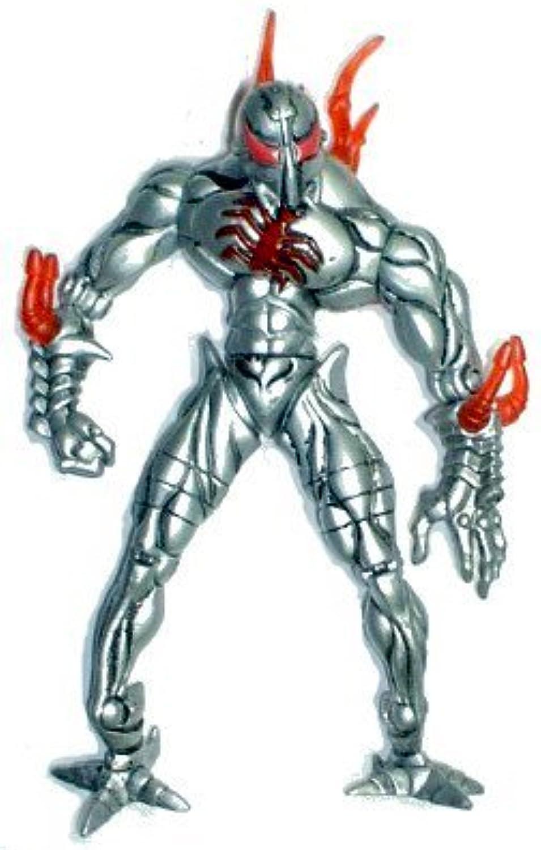 selección larga STEEL-SHOCK SPIDER-MAN  Sparking Chest Acción Acción Acción  1997 Spider-Man Electro-Spark Series Acción Figura  tienda en linea