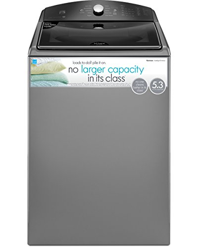 Kenmore 26-28133 5.3 cu ft. Top Load Washer in Metallic Silver, includes delivery and hookup (Available in Select Cities Only)