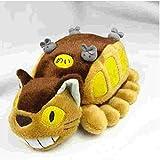 N/D Peluche Totoro Juguetes Anime Studio Ghibli Mi Vecino Totoro Gato Autobús Peluche Peluche 30 Cm