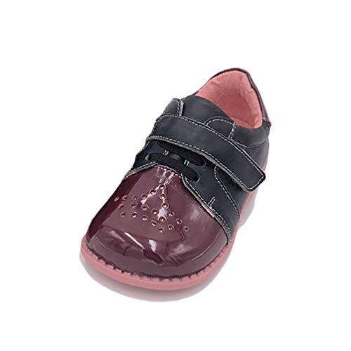 Feidaeu Chaussures de Sport pour Enfants Fashion Casual Plates Chaussures décontractées bébé Respirant Floral bébé Mignon 21