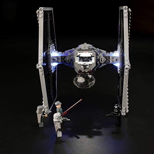 Conjunto De Luces para (Star Wars Caza Tie Imperial) Modelo De Construcción De Bloques - Kit De Luz LED Compatible con Lego 75211 (NO Incluido En El Modelo)